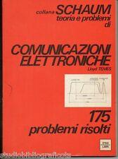 Temes L.; Teoria e problemi di COMUNICAZIONI ELETTRONICHE , collana Schaum