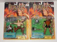 Toy Biz 1997 Hercules Mt Olympus Games Figures Hercules & Mesomorph NEW