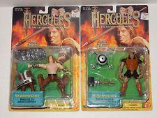 Toy Biz 1997 Hercules ~ Mt Olympus Games Figures ~ Hercules & Mesomorph  **NEW**