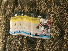 91-92 Topps Stadium Club Hockey Gold Error NO FOIL Pat LaFontaine