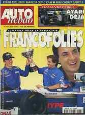 AUTO HEBDO n°1087 29/05/1997 GP ESPAGNE HELSINKI F3000 PRELUDE 2.2  MINI COOPER