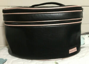 Mary Kay Makeup Travel Tote Cosmetic Bag Mirrored Organizer Two Tiered Case