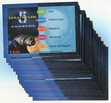 Babylon 5 1996 Special Edition Trivia Card Lot! Nm/M 17 Cards