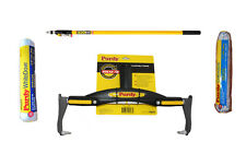 """2-4 ft Purdy PowerLock  Pole, Adjustable Paint Roller Frame, 12"""" Dove + Colossus"""