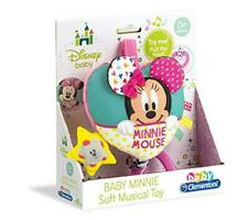 New Clementoni Disney Baby Minnie Mouse Soft Carillon Musical Cot Toy