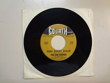 "SURF BUNNIES: Surf Bunny Beach-Our Surfer Boys-U.S. 7"" 1963 Goliath Records 1352"