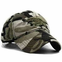 US USNS USMC Navy army Special Forces Insignia NAVY Seal hat Eagle Trident Camo