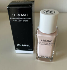 Chanel - Le Blanc Rosy Light Drops  30mls