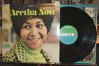 ARETHA FRANKLIN Aretha Now SOUL  ATLANTIC SD 8186 ORIGINAL 2 TONE VG+ VINYL