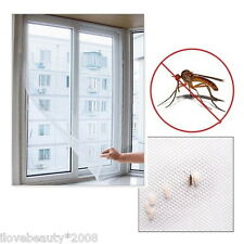 1 pc insect fly mosquito window screens net DIY magic mesh curtains 130x150cm