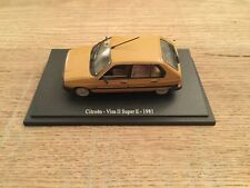 Universal Hobbies 1/43 Citroën Visa II Super E - 1981 brown