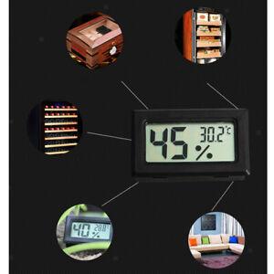 LCD Digital Hygrometer Thermometer Digital Monitor Indoor Outdoor Humidity Meter