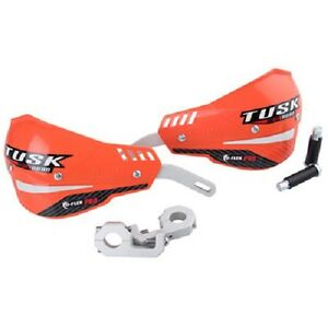 "Tusk D Flex Pro Handguards 7/8"" Bars Orange Motorcycle Dirt Bike Hand Guards"