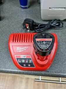 Milwaukee C 12C Charger With M12B2 2.0aH Battery