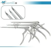 """3 Pcs Set KERRISON Rongeurs 7"""",1mm, 2mm, 3mm up 45 Degree orthopedics Instrument"""