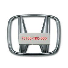 For Civic 4dr Sedan Front Grille H Emblem 12 15 75700 Tr0 000 18 19 Crv Fits 2012 Honda Civic
