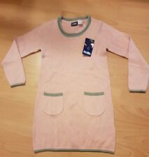 BNWT LUPILU  girls pink woolen dress age (4-5 5-6)