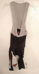 Mens Giordana Sports Systems Black cycle cycling bib shorts size XL