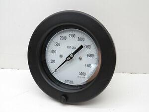 "Robertshaw Acragage 6"" Pressure Test Gage Gauge 0-5000PSI, 1/2"" NPT"