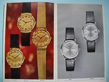 VINTAGE IWC BOOKLET - RARE - 1960 - 1969