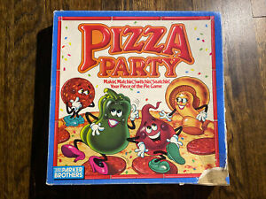Vintage Pizza Party Board Game Parker Brothers - INCOMPLETE