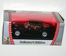 Road Signature - BUICK RIVIERA GS (1971) Black - Model Scale 1:43