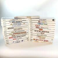 Huge Lot Bundle of 27 Nintendo Wii Video Games! Read Description for Cond. Notes