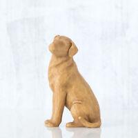 WILLOW TREE Love my Dog (hell) NEU/OVP Hundefigur Labrador Hund 27682