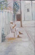 Orientaliste sur Toile de Akim Bouri