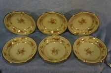 "Noritake Westport 8166 W83 (6) Fruit Berry Dessert Bowls 5 5/8"""