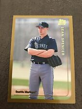 1999 Topps Traded Sean Spencer Seattle Mariners T34
