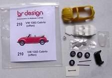 VW Käfer 1303 Cabrio (offen) - 1:87 bs-design Resin
