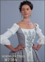 M7764 McCall's 7764 Sewing Pattern Outlander Movie Georgian Costume Historical