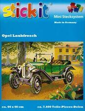 Mini Stecksystem Opel Laubfrosch ca. 7.600 Teile Nr. 42149 mit XXL-Steckvorlage