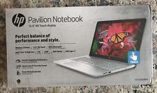 "HP Pavilion 15-cc050wm Laptop 15.6"" TouchScreen 7th Gen i5-7200U 12GB 1TB DVD-RW"