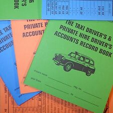 PRO driver ACCOUNTS LOG book taxi meter cab day week record keeping HMRC GRADED