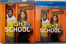 NIGHT SCHOOL EXTENDED CUT BLU RAY DVD 2 DISC SET + SLIPCOVER SLEEVE FREE SHIPING