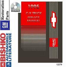 1995 Chevrolet & GMC Light Duty C/K Truck Shop Service Repair Manual CD