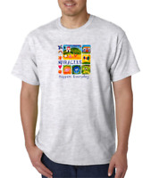 USA Made Bayside T-shirt Christian Miracles Happen Everyday Every Day
