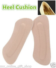 Lady Shoes Back High Heel Cushion Pad Protector Insole Liner Foot Care Support