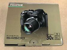 FujiFilm FinePIx S4500 14.0MP 30x Zoom Black Digital Camera