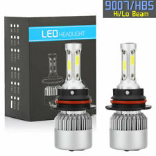 9007 HB5 LED Headlight Conversion Kit 1800W 270000LM HI-LO Dual Beam Bulbs 6000K