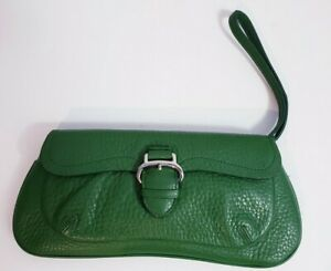 Cole Haan leather clutch wristlet