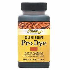 New listing Fiebing'S Professional Oil Dye Golden Brown 4 Ounce U-004Z