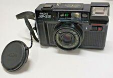 Ricoh AF-35 Film Camera 38mm 1:2.8 Color Rikenon Lens - Tested & Working