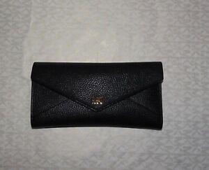 Preowned Michael Kors Slim Envelope Wallet / Black
