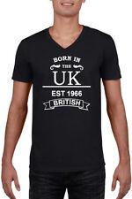 Fruit of the Loom V Neck Regular Size T-Shirts for Men