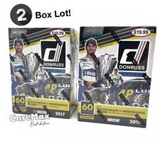 2017 Panini Donruss Racing Nascar Blaster Box (2 box lot!)
