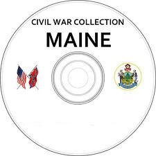 Maine : Civil War & Genealogy Vintage Book Collection on CD