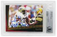 Willie Roaf Signed SAINTS 1993 Score Rookie Football Card w/HOF 2012 - BECKETT